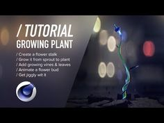 Cinema tutorial by Daniel Danielsson how to Making Infinite Blooming Flower with Cinema and produce and animate the flower petals. Tutorial Sites, Vfx Tutorial, Cinema 4d Tutorial, Animation Tutorial, Digital Art Tutorial, Motion Design, Cgi, Library Book Displays, Preschool Bulletin Boards