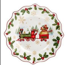 Villeroy boch tallerken, Annual Christmas Edition Salad Plate 2017, Jul | FINN.no Christmas Salad Plates, Christmas China, Christmas Dishes, Christmas 2017, Porcelain Doll Makeup, Porcelain Dolls Value, Fine Porcelain, Porcelain Jewelry, Porcelain Tile