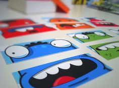 #MOOcards hot off the press by dzingeek, via Flickr
