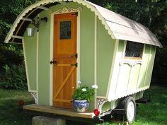 Gypsy Wagon Construction Roulottes And Caravans Gypsy