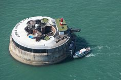 134-year old sea fort turned into Luxury Hotel