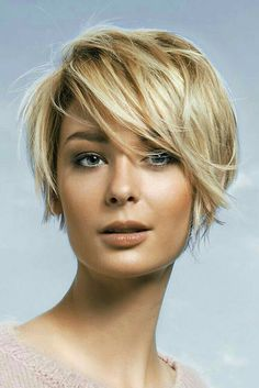 I doubt I could pull this off, but it's cute for a short cut.