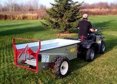 Small Tractors, Old Tractors, Agriculture Industry, Tractor Attachments, Cubic Foot, Garage Door Opener, Hobby Farms, Wheelbarrow, Galvanized Steel