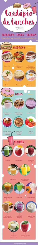 Cardápio de lanches: sugestões para opções saudáveis - Blog da Mimis #blogdamimis #lanche #light #emagrecer #dieta #saudável #cardápio