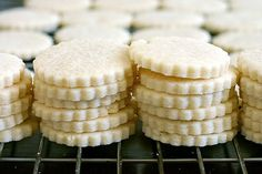 Sables....Adapted from Boulangerie Poilâne, via Paris Sweets by Dorie Greenspan...posted at smittenkitchen