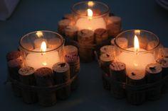 Fireside Winery Wedding Candles - Marengo. #MyIowaWedding