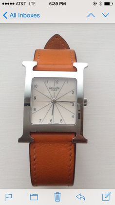 Hermes Watch @Michelle Coleman-HERS
