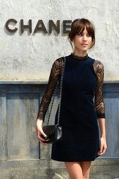 Chanel: Front Row - Paris Fashion Week Haute-Couture F/W 2013-2014 #alexachung