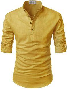 Bali Roll-up Linen Shirt - Mens Shirts Casual - Ideas of Mens Shirts Casual - Bali Roll-up Linen Shirt Casual Shirts For Men, Men Casual, Mens Kurta Designs, African Men Fashion, Mens Fashion, Henley Shirts, Mens Clothing Styles, Shirt Style, Men Dress