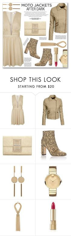 """""""AFTER DARK"""" by nanawidia ❤ liked on Polyvore featuring Topshop, Dolce&Gabbana, Isabel Marant, Movado and Capwell + Co"""