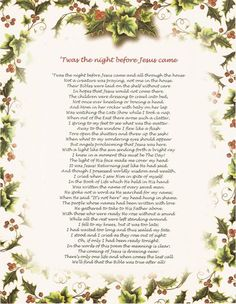 'Twas the Night Before Jesus Came -