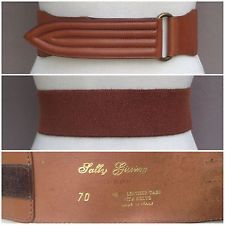 Beautiful, highest quality designer leather belts by Sally Gissing of London. All made in either Italy or England. Lovely leather belts - all for sale on myworld.ebay.co.uk/fantasiavintage :) Follow on Twitter: @Fantasia Vintage Instagram: @Fantasia Vintage Facebook: wwww.facebook.com/fantasiavintage