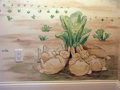 Beatrix Potter nursery mural -bunnygroup2   Flickr - Photo Sharing!