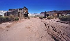 ~ Ghost Town ~ Paria, Utah.... We have been there twice ... The drive on the dirt road is awesome!