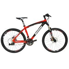 BEIOU Toray T700 Carbon Fiber Mountain Bike Complete Bicycle MTB 27 Speed 26Inch Wheel SHIMANO 370 CB004G17X Red 17Inch -- See this great product.