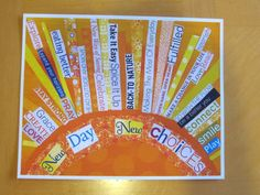 New Day New Choices 8 x 10 print by 3wishescreations on Etsy