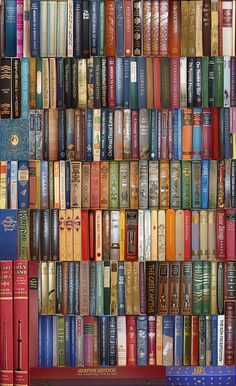 Folio Society book montage - 170 books by warwick_carter, via Flickr. #reading #books