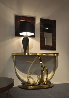 Anella console and Groucho mirrors