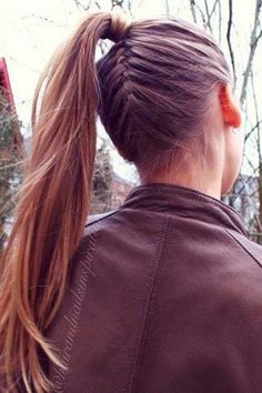 Everyday Ponytail Hairstyles 2015 Fall | Hairstyles 2015 / 2016, Hair Colors and Haircuts