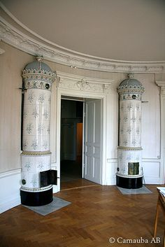 Kakelugnar (Swedish tile stove):