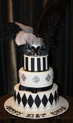 Your guests will become so mesmerized by this stylish AND tasty cake. CAKE GOALS!! I want it!