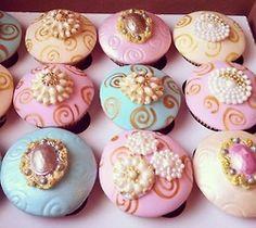 Jewelry Cupcakes by Fancy Batter www.facebook.com/fancybatter