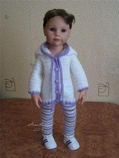 Недавние вязалочки для кукол / Одежда и обувь для кукол - своими руками и не только / Бэйбики. Куклы фото. Одежда для кукол