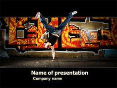 Httppptstarpowerpointtemplategraffiti on the wall httppptstarpowerpointtemplatebreak toneelgroepblik Gallery
