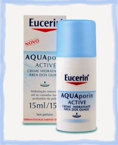 Blog Bela Domus - Vanessa Sial: Eucerin Aquapoin Active Olhos
