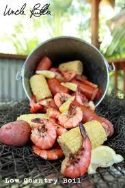 A Lowcountry Boil from Uncle Bubba's Restaurant in Savannah, GA