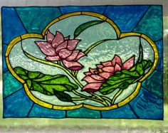 Stained glass lily | Etsy