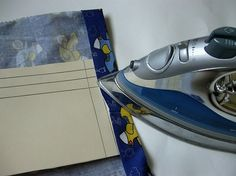 Sewing Tip- Ironing Down Hem Made Easy *don't follow link - just look at the picture*