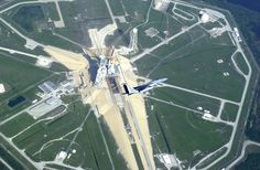 F15C and Space Shuttle Endeavour