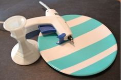 diy cake stand ... loving this idea! by myrtle