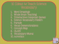 The Science Penguin: Science Solutions {Vocabulary}