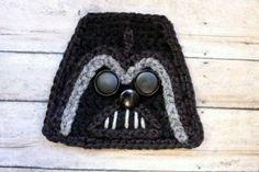 Darth Vader Crochet applique Pattern!
