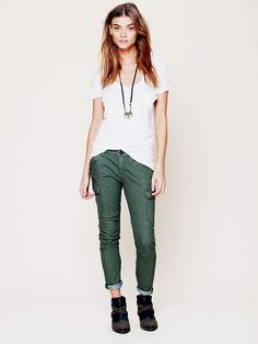 Free People Railroad Skinny at Free People Clothing Boutique