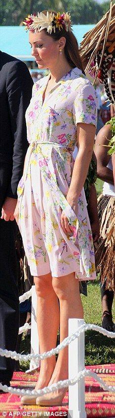 The Duke And Duchess Of Cambridge Diamond Jubilee Tour - Day 9