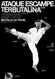 Title: Chuckjoy // Client: Arinspunk // Year: 2011 // Format: A4 (297x420mm) // Printing: Laser Print