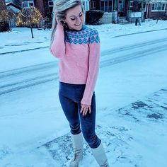 Hey, I found this really awesome Etsy listing at https://www.etsy.com/listing/578014283/pink-hand-knitted-nordic-sweater
