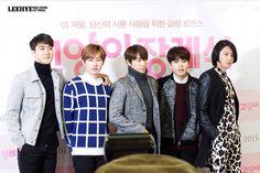 "Siwon, Eunhyuk, Donghae, Ryeowook, Heechul | ""Cat Funeral"" Premiere (150107)"