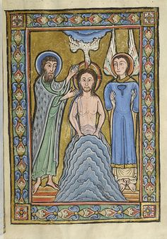 Vita Christi (Life of Christ), MS M.44 fol. 5r - Images from Medieval and Renaissance Manuscripts - The Morgan Library & Museum France c 1170, maybe Corbie