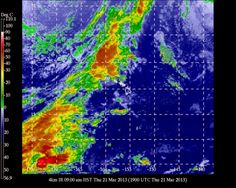 University of Hawaii Meteorology: Honolulu (HNL) Airport Weather  0900 HST Thursday March 21 2013		Temperature - 78o Rel. Humidity - 66%	 CLOUDY Winds - SE 7 mph N/A