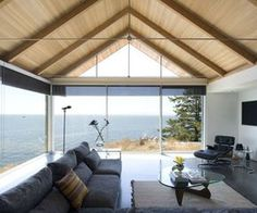 BUILD LLC discusses the structure behind exposed a-frame roof systems prolific in the modernism of the Pacific Coast.