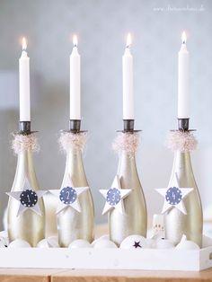 dreiraumhaus rotkäppchen fruchtsecco rotkaeppchen fruchtsecco diy adventskranz glasflaschen11
