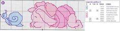 Schema punto croce Pimpi baby