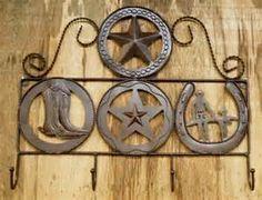 Rustic Metal Western Hook Hanger