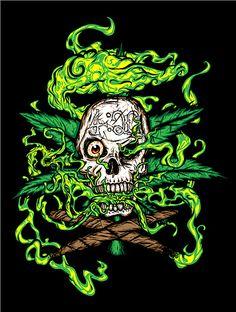 Pin 420 Weed Drawings Stairway To Heaven Tattoo Sleeve Tattoos Apr on ...