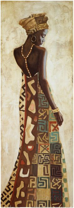 Femme Africaine III Prints by Jacques Leconte at AllPosters.com