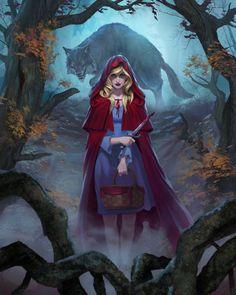 Little Red Riding Hood lvl1 by DiegoGisbertLlorens.deviantart.com on @DeviantArt